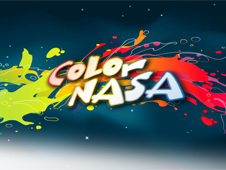 Screenshot of Color NASA